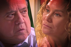 María Luisa enfrentó a Mario y causó expectación en el público de Verdades Ocultas