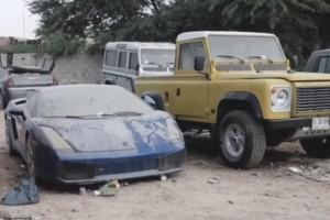 [VIDEO] Así luce un Lamborghini abandonado en Dubai