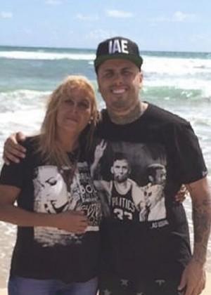 Ella es Ysabel Caminero, la madre de Nicky Jam
