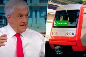 Presidente Piñera sorprende con anuncio de línea 10 del Metro