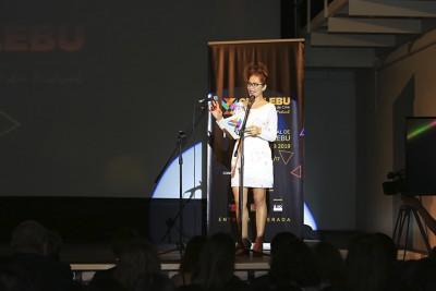 A salón repleto se dio inicio a la 19ª versión del Festival Internacional de Cine de Lebu