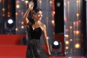 Viña 2019: Francisca Merino se llenó de elogios con su look en la alfombra roja