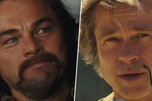 Leonardo Di Caprio y Brad Pitt sorprenden con sus looks en nueva película de Quentin Tarantino