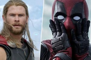 ¿Nuevo Avenger? Chris Hemsworth le dio la bienvenida a Deadpool a la familia Marvel
