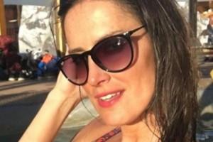 Adriana Barrientos reveló con infartante imagen el cambio de look que se hizo en su cumpleaños