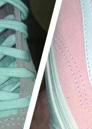 El regreso del dilema en internet: ¿De qué color son estas zapatillas?