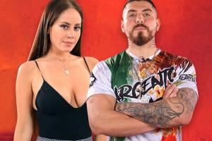 El romántico tatuaje que se hicieron Ignacia Michelson y Sargento Rap para sellar su amor